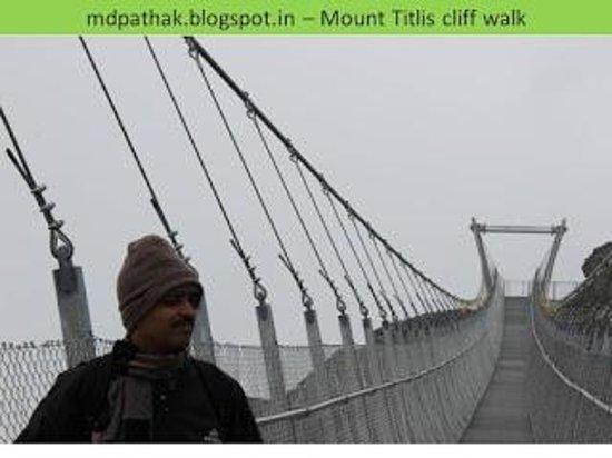 Mount Titlis: cliff walk