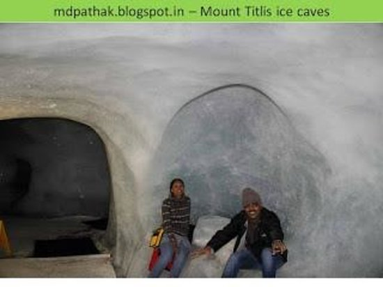 Mount Titlis: Ice caves