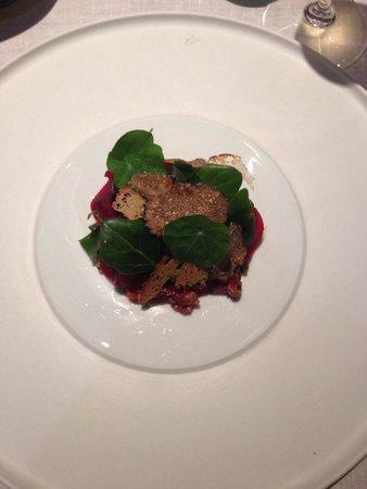 Pollen Street Social : Steak Tartare with Truffles