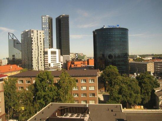 Radisson Blu Hotel Olumpia: Вид из номера (8 этаж)