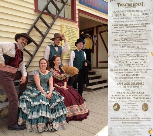 Barkerville Historic Town: Terrific live theatre production!