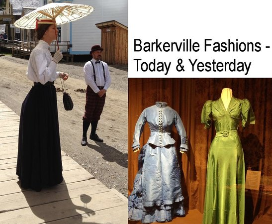 Barkerville Historic Town: Barkerville Fashions