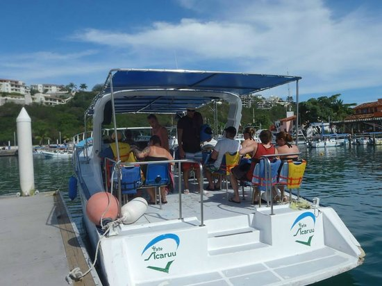 Dreams Huatulco Resort & Spa : Boat to Snorkelling