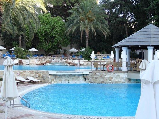 Rodos Palace: piscine exterieure