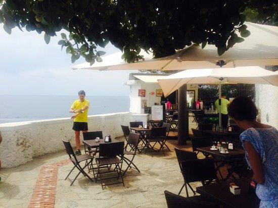 Al Faro di Portofino Lounge Bar: Al Faro terrazza