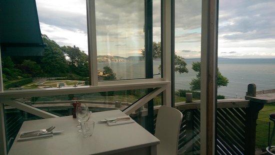 Hix Oyster & Fish House : Views