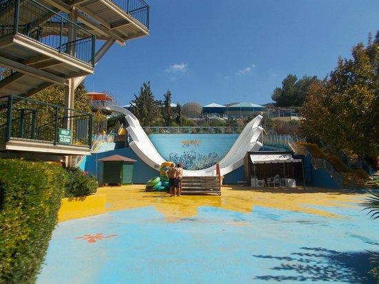 parking - Picture of Acqua Plus Water Park, Hersonissos ...