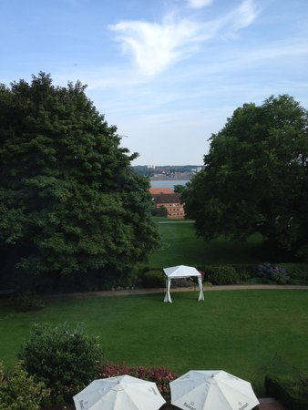 Romantik Hotel Kieler Kaufmann: view from the deluxe double bedroom