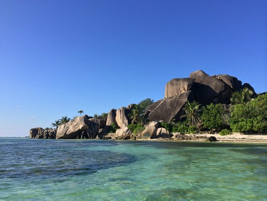 Castello Beach Hotel: La Digue