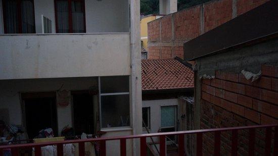 Hotel Albatros: Vue du balcon