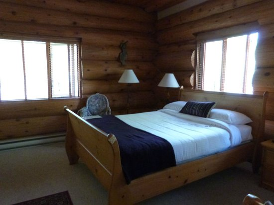 The Log House Inn: chambre de legende
