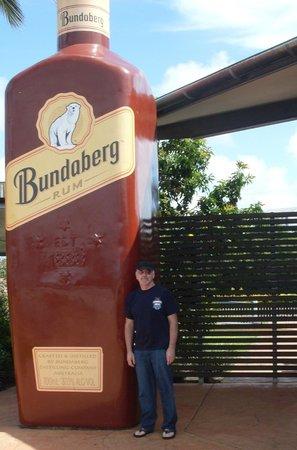 Bundaberg Rum Distillery: the bottle