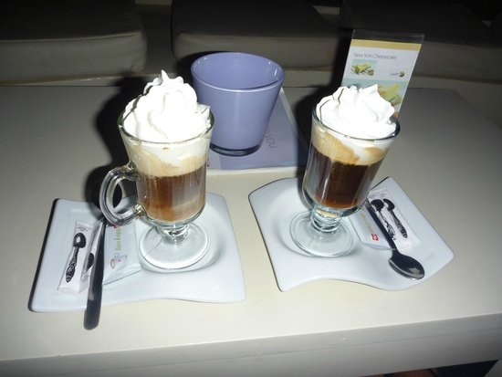 Buca Lounge Bar: Speciality Coffees