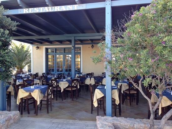 Santo Miramare Resort: Breakfast area
