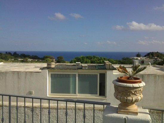 Hotel Castiglione: panorama dal terrazzo dell' hotel