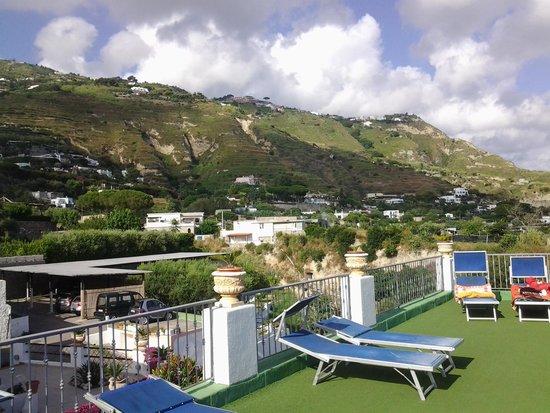 Hotel Castiglione: terrazzo hotel