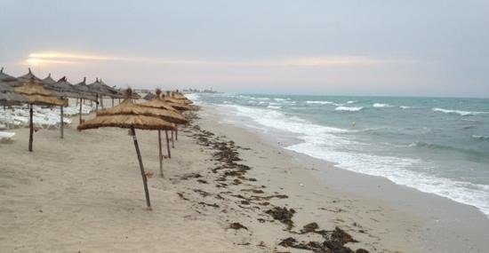 Radisson Blu Palace Resort & Thalasso, Djerba: wind, strong wind and waves