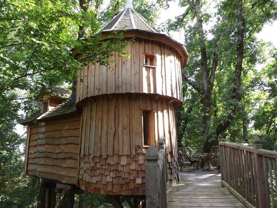 cabane milandes photo de ch teaux dans les arbres bergerac tripadvisor. Black Bedroom Furniture Sets. Home Design Ideas