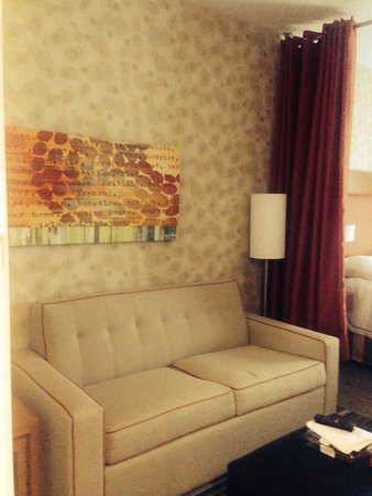 Home2 Suites By Hilton Erie, PA: Couch