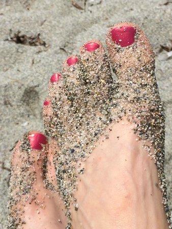 Adrina Resort & Spa: The Coarse Sand of the Beaches