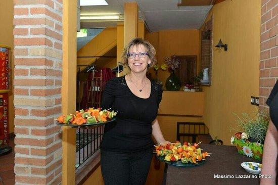 Trattoria Vecchio Mulino Brasserie: Monica,la titolare