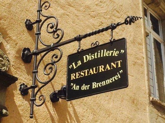 La Distillerie : L'entrée