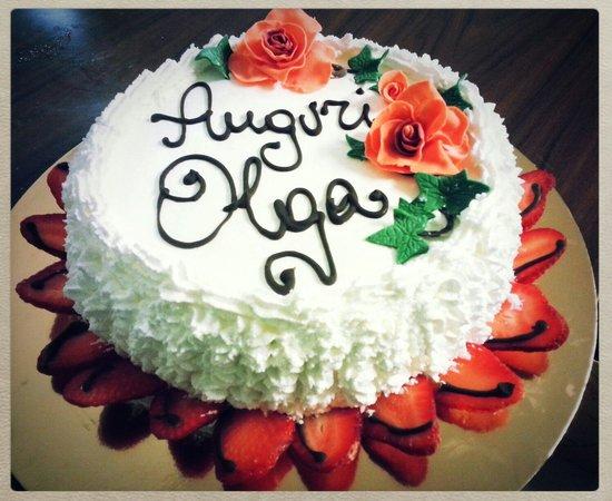 Trattoria Vecchio Mulino Brasserie: Compleanno.