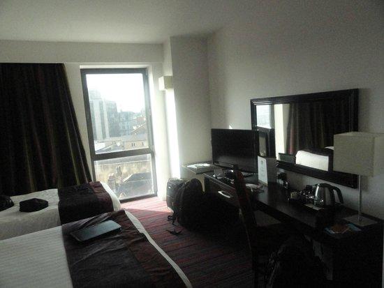 Clayton Hotel Cardiff: Vista desde la habitación