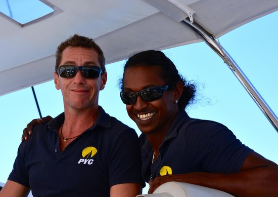Private Yacht Charter SXM : Alex and Jeff, our crew