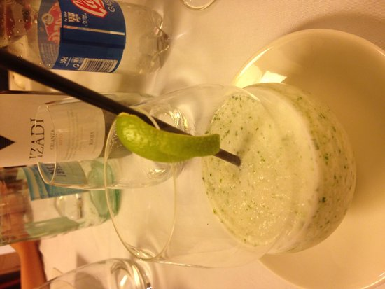 Casa Urola: Mojito sorbet dessert