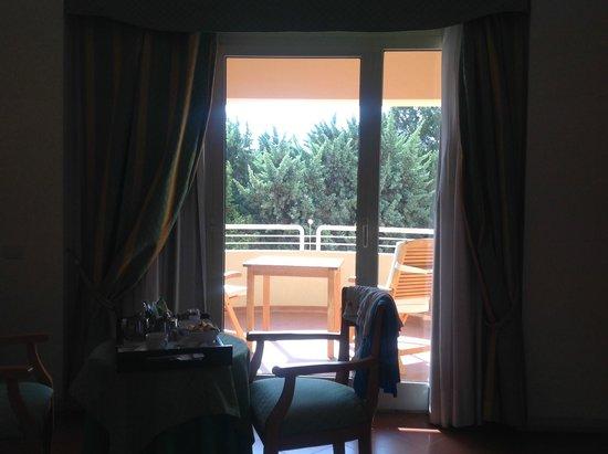 Pullman Timi Ama Sardegna : vista sul giardino
