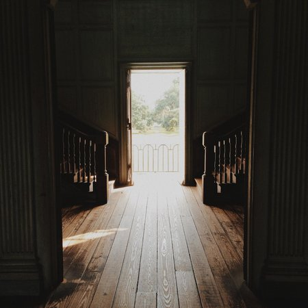 Drayton Hall : Out the back door
