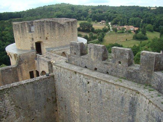 Château de Bonaguil : Du haut de la tour