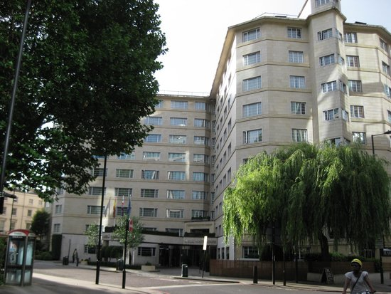 hotel from adjacent business park picture of melia white house london tripadvisor. Black Bedroom Furniture Sets. Home Design Ideas
