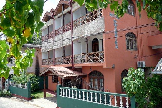 Hotel Dhammika: Alle Zimmer mit freiem Meerblick