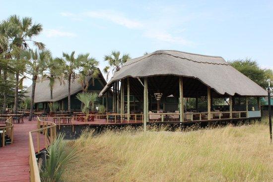 Maramboi Tented Camp: Receptie en Restarurant