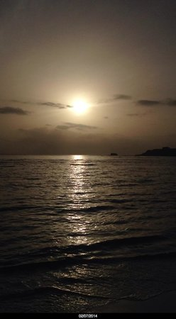 ClubHotel Riu Bachata: Sun coming up 07:30 AM