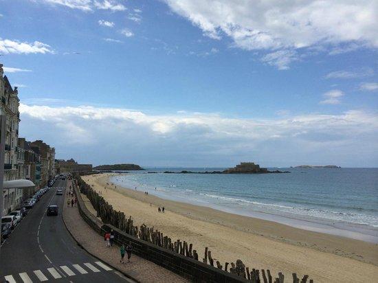 Mercure Saint Malo Front de Mer : Belle vue de la 210