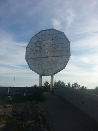 Fairfield Inn & Suites Sudbury: World's largest coin,  a few km away from the hotel