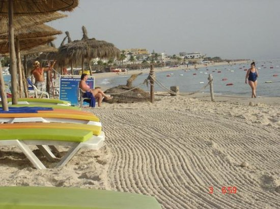 Hôtel Riviera Resort : plage le matin
