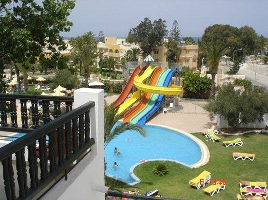 Hôtel Riviera Resort : espace tobbogan