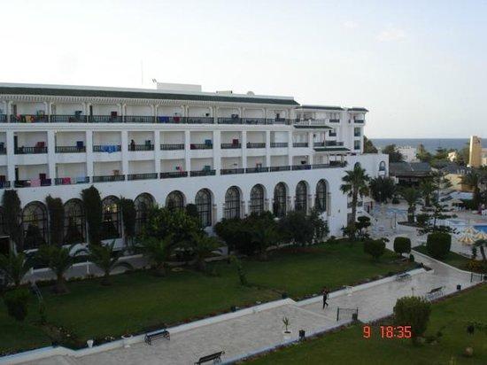 Hôtel Riviera Resort : vue de la chambre