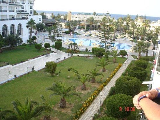 Hôtel Riviera Resort : de notre chambre