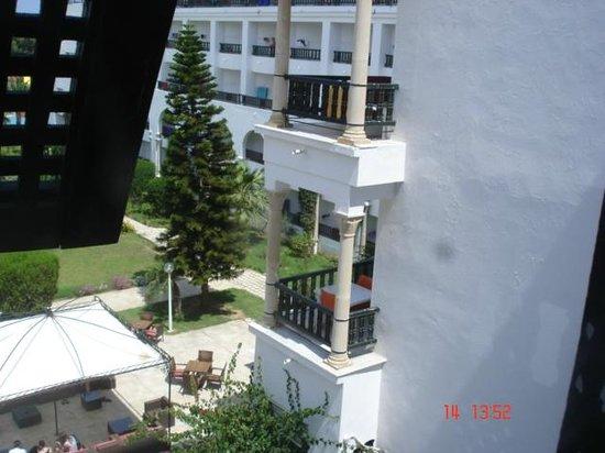 Hôtel Riviera Resort : vue de l'ascenceur