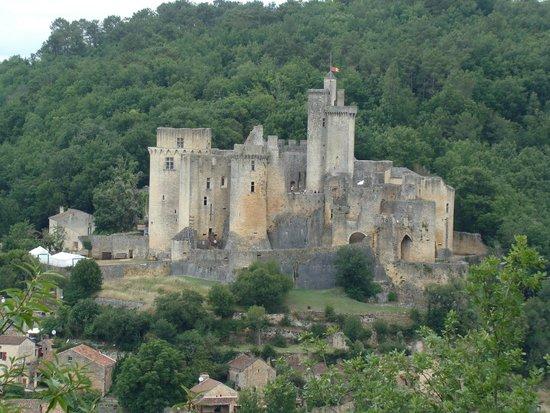Château de Bonaguil : Point de vue