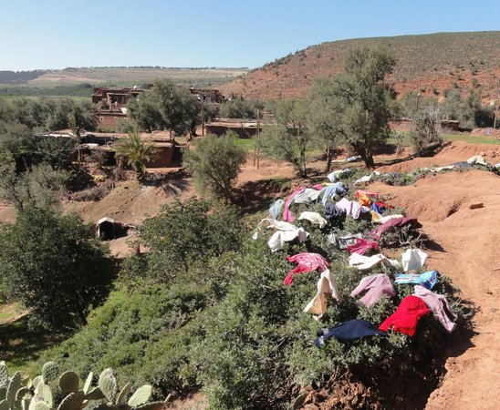 Kasbah Bab Ourika: Berber home
