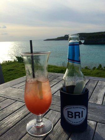 The Cove Eleuthera: Sunset drinks
