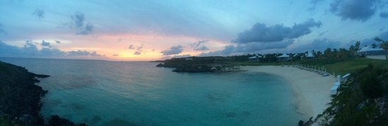 The Cove Eleuthera : View from Clifftop bar