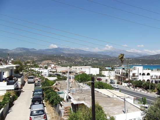 El Greco Apartments: View from room