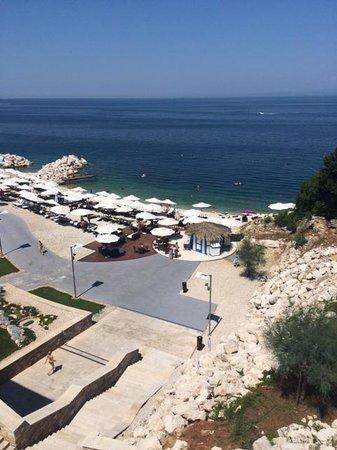 Kempinski Hotel Adriatic Istria Croatia: Spiaggia
